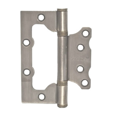 Петля накладна APECS 100*75*2,5-B2-V2-Steel-NIS (комплект 2 шт)