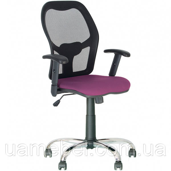 Кресло офисное MASTER (МАСТЕР) NET GTP CHROME