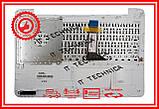 Клавіатура ASUS K555L R556 чорна с СЕРЕБРИСТЫМ топкейсом, фото 2