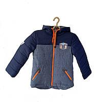 Демисезонная куртка мальчик 3 - 6 лет, есть замеры 98,104,110, 116