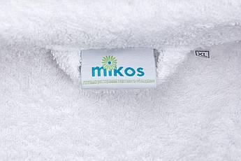 Женский халат XL, махровый,белый,100% хлопок, фото 3