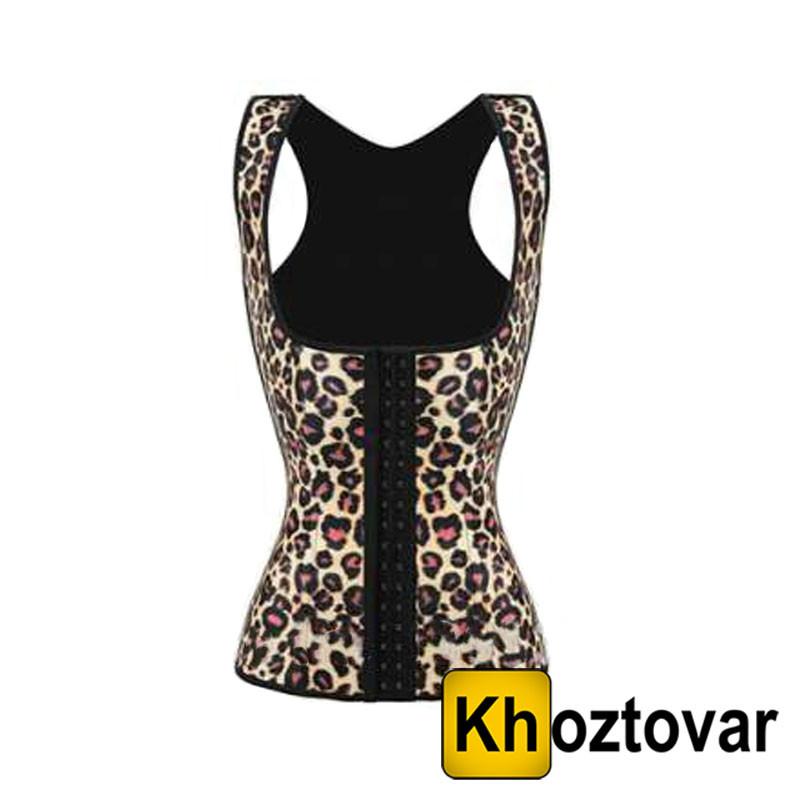 """Утягивающий корсет для похудения на бретельках """"Leopard"""" Sculpting Clothes NY-02"""