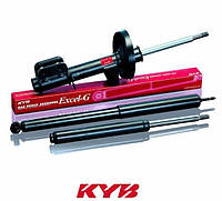 Амортизатор задний Лачетти в сборе газовый левый (KYB Excel G)