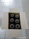 Стретч плівка для ручного пакування 20 мкм 2,0/2,2 кг чорна, композит, фото 4