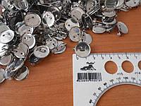 Основа для броши 18мм серебро