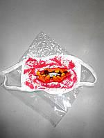 Маска зубы с кровью