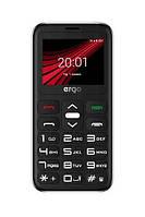 Кнопочный телефон ERGO F186 Solace DS Black