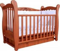 Детская кроватка Верес Соня ЛД 15 маятник+ящик (ольха)