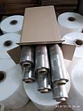 Стретч плівка для ручного пакування 20 мкм 2,0/2,2 кг прозора, вторинна, фото 3