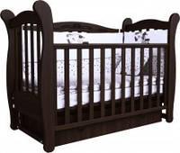 Детская кроватка Верес Соня ЛД 15 маятник+ящик (орех)
