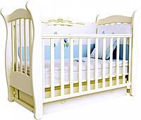 Детская кроватка Верес Соня ЛД 15 маятник+ящик (слоновая кость)