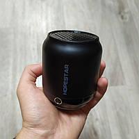 Маленькая bluetooth колонка Hopestar H8 ОРИГИНАЛ беспроводная портативная мини акустика черная, фото 1