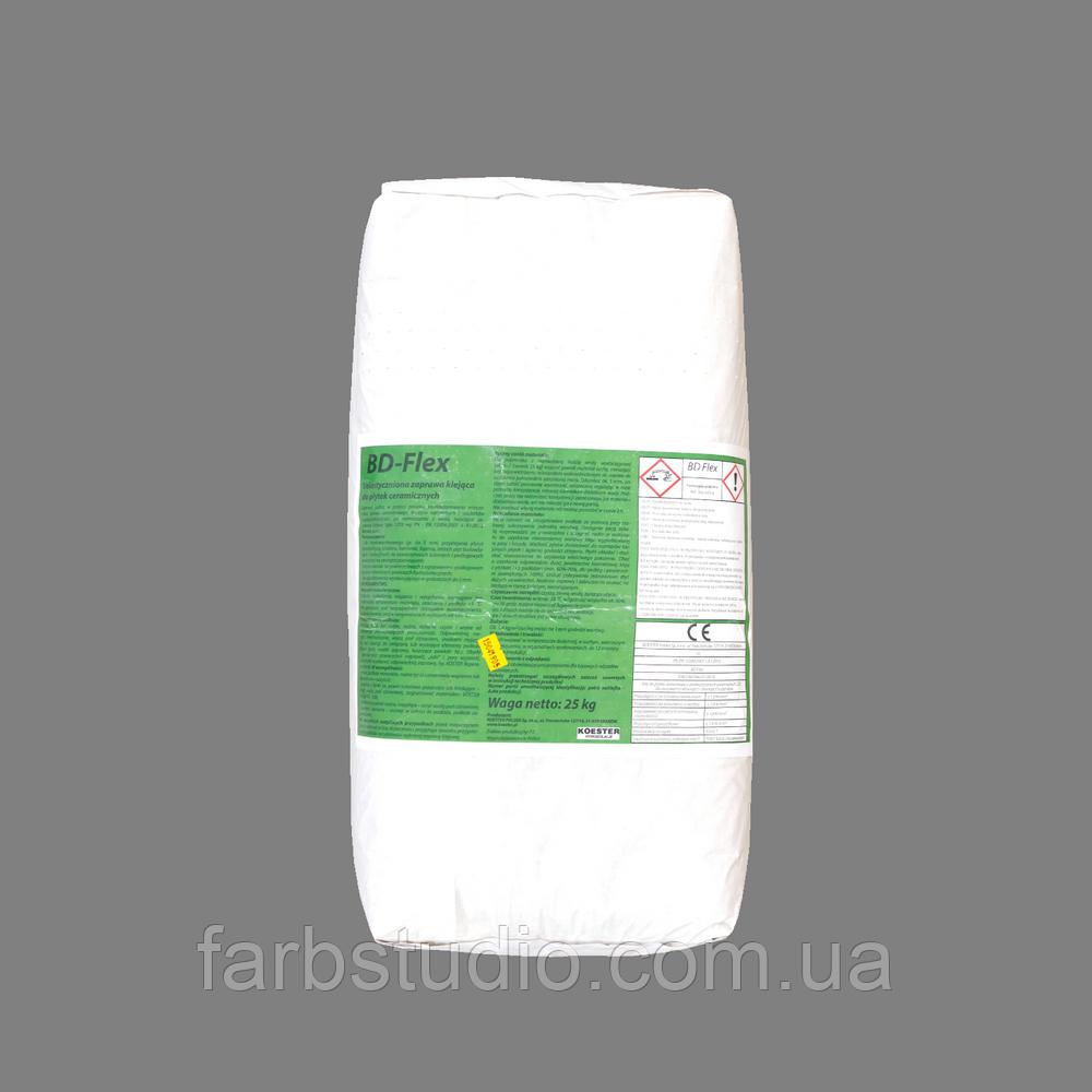 Гидроизоляция,клей для плитки эластичный KOSTER BD FLEX, 25 кг