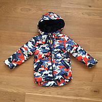 Весенняя курточка на мальчика 3 - 7 лет | Есть замеры 98, 110, 116