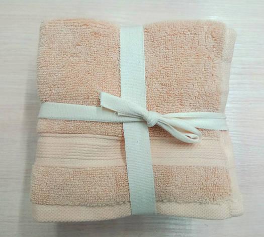 Набор полотенец 30*30 (5шт) Бежевые, фото 2