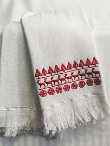 Набор полотенец 50*70 (2шт) Олени, фото 2