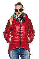Демисезонная женская куртка- парка