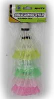 Воланчики пластиковые (6шт) в пакете BD-2104-6 (пластик, цветные)