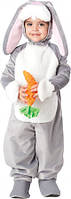 Карнавальный костюм Зайчик с морковкой прокат Киев, фото 1