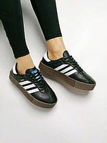 Кроссовки  Adidas Samba Rose , Женские, Кожа,  Жіночі кросівки, размер 36-40, фото 3