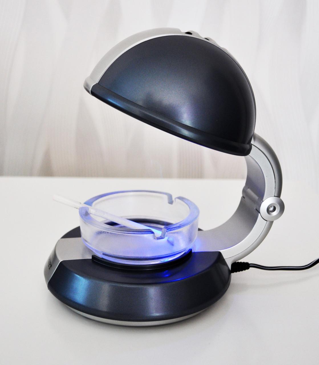 Ионный очиститель воздуха от табачного дыма с подсветкой ZENET XJ-888 Черный (hub_QaYX54600)