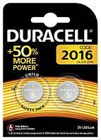 Батарейки Duracell DL2016 DSN 2 ШТ. (5003006)