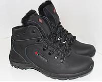 Зимние мужские ботинки в стиле Columbia,натуральная кожа. 43р.
