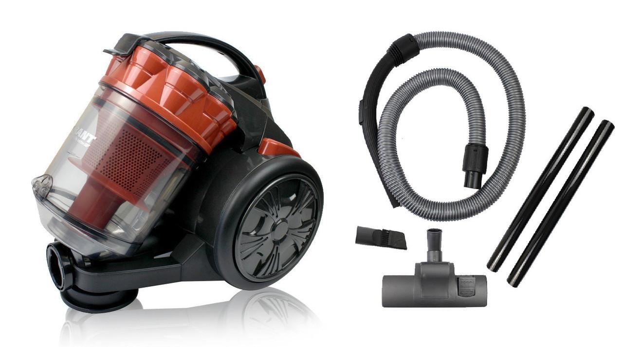 Пылесос GRANT GT-1603 3000W, контейнер 3 литра, пылесос циклон Грант без мешка + Подарок