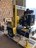 Дизельная грязевая мотопомпа Varisco VAR 6-400 FZD18 G11 TRAILER  на тележке, фото 3