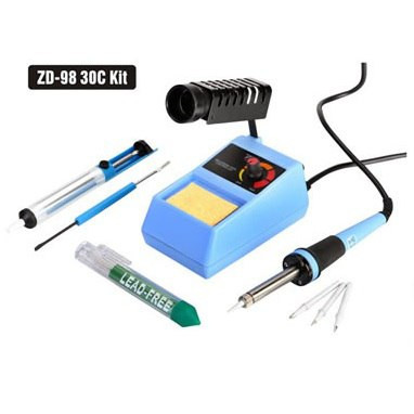 Паяльный набор с паяльной станцией ZD-98 30C