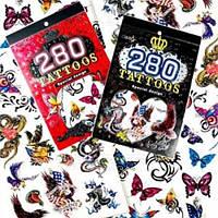 Тимчасові татуювання Tattoos Special design, альбом