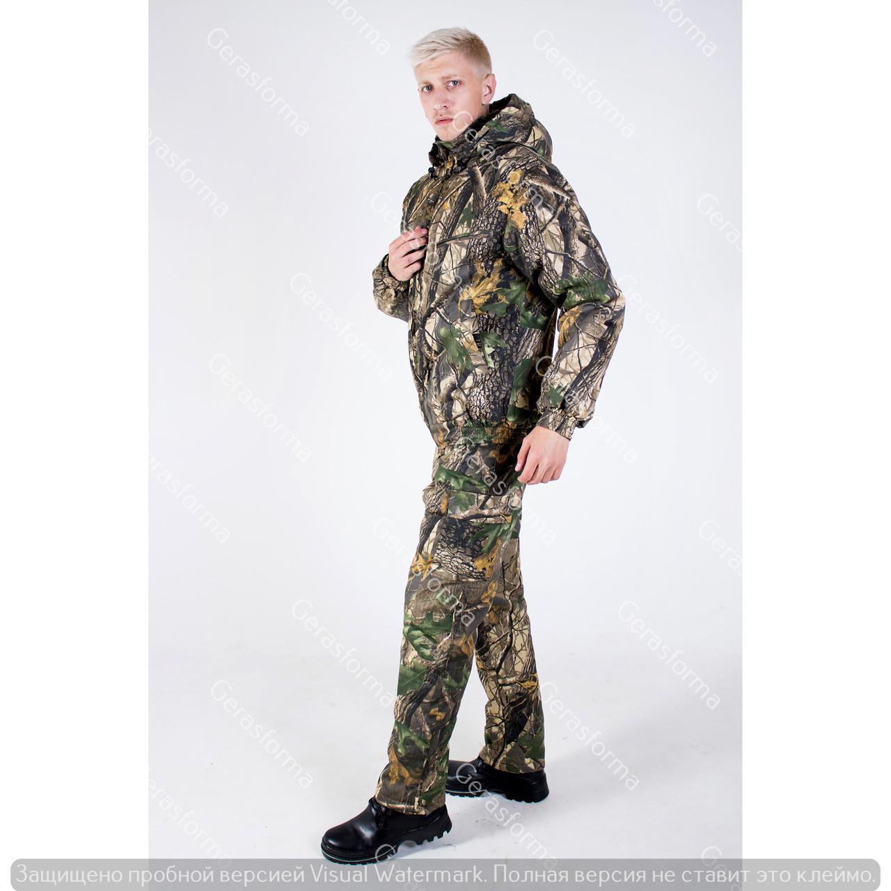 Костюм камуфляжный зимний для охоты и рыбалки Светлый Клен