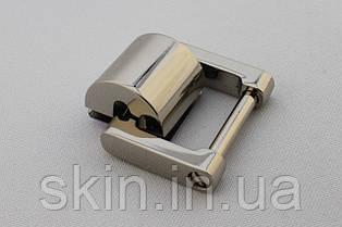 Ручкодержатель боковой, для ручки шириной 20 мм, цвет - никель, артикул СК 5572