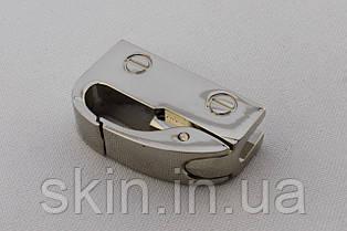 Ручкодержатель боковой, габаритные размеры 35 мм * 21 мм * 10 мм, цвет - никель, артикул СК 5573