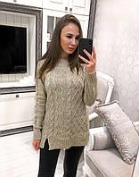 Стильный свитер-туника, фото 1