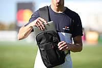 Рюкзак crossbody отдолямочный с карманом для планшета или компактного ноутбука
