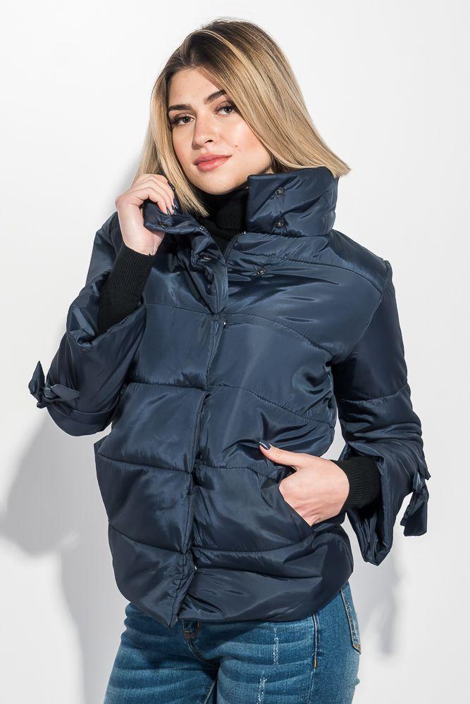Куртка женская с бантиками на рукавах