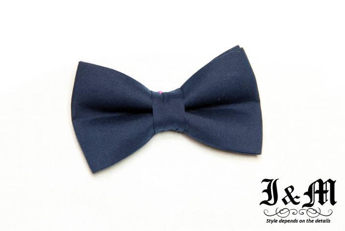 Детская галстук-бабочка i&m (010901) Dark blue, фото 2