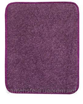 Термоковрик электрический Теплик 50х60 двухсторонний фиолетовый