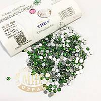 Стразы YHB Lux, цвет Fern Green, ss20 (4,8-5мм), 100шт