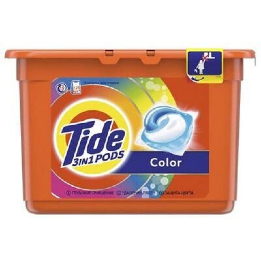 Капсулы для стирки Tide Color 15 шт (8001090758286)