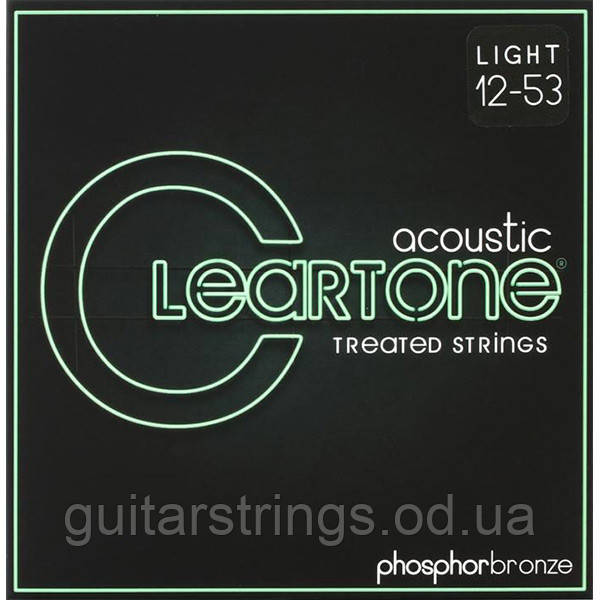 Струны Cleartone 7412 Light 12-53 Phosphor Bronze