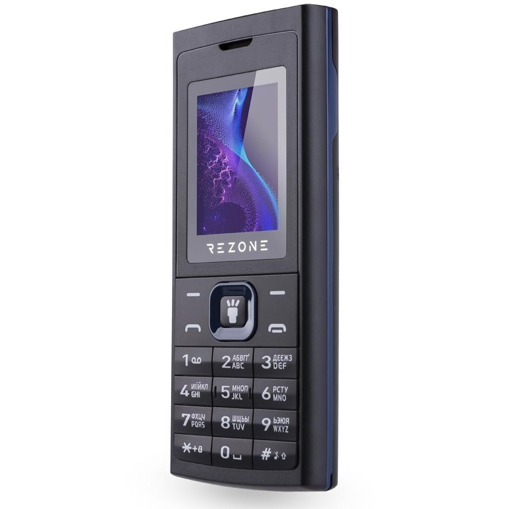 Мобильный телефон Rezone A171 Radiant Black Blue