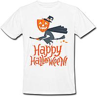 Футболка Happy Halloween (белая)