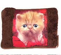Грелка-муфта для рук электрическая (Рыжий котенок)