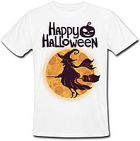 Футболка Happy Halloween (біла)