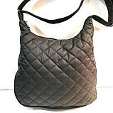 Женские стеганные сумки дешево опт до 100грн (синий)32*40см, фото 2