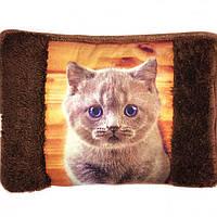 Грелка-муфта для рук электрическая (Серый котик))