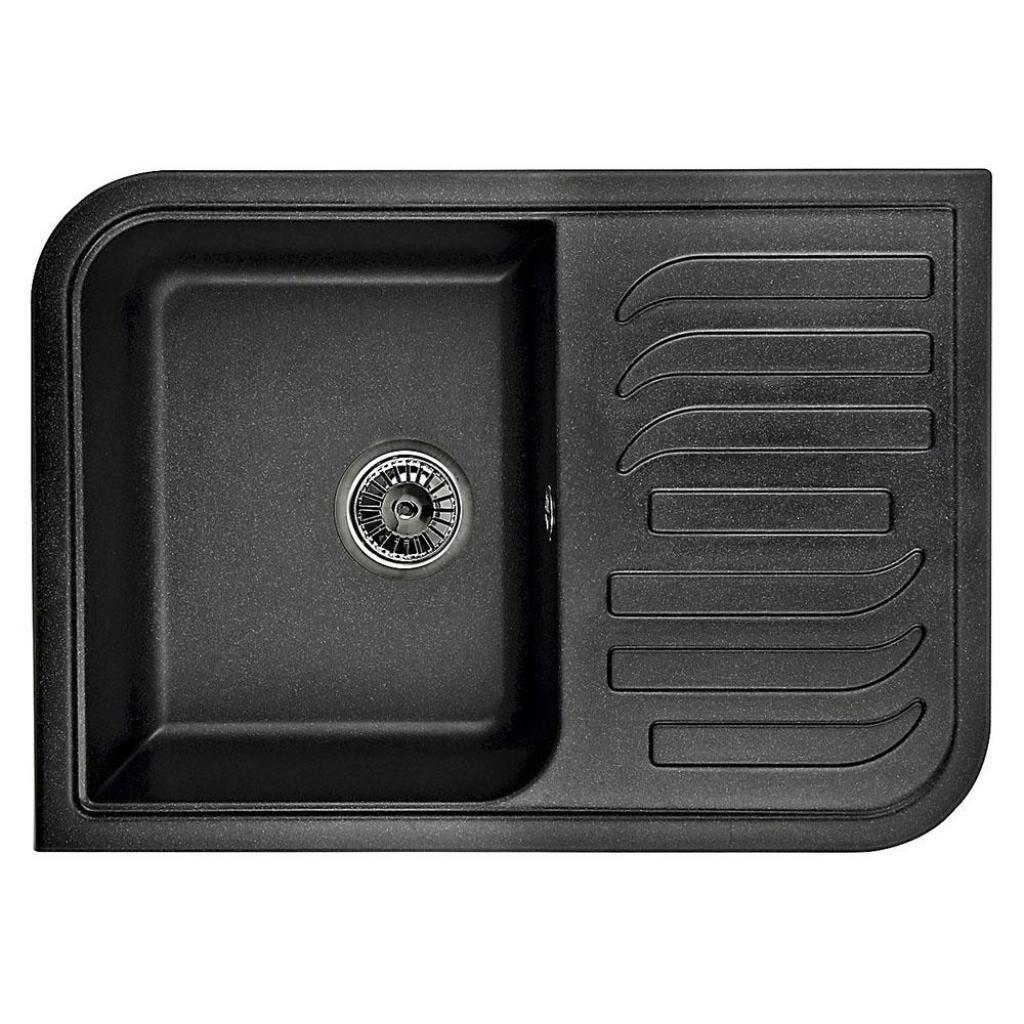 Мойка кухонная MINOLA MPG 71145-70 Антрацит (металлик)