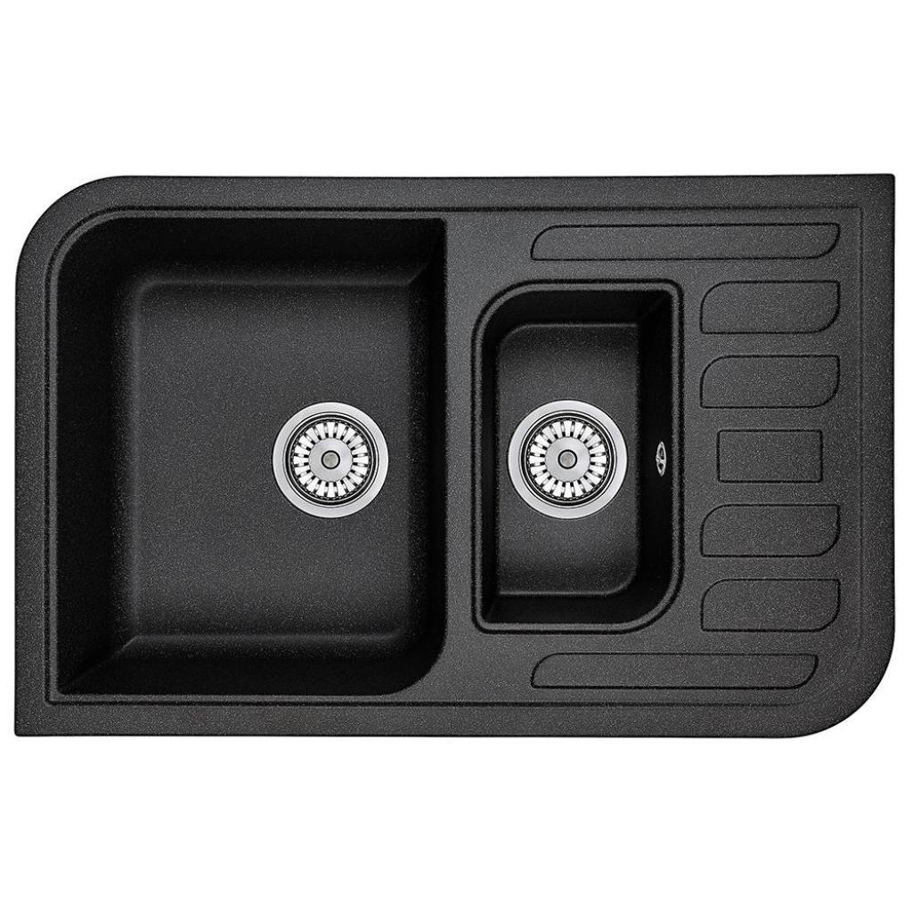 Мойка кухонная MINOLA MPG 75360-78 Антрацит (металлик)